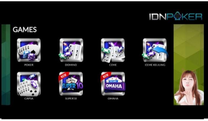 Cara Daftar dan download Apk IDN poker